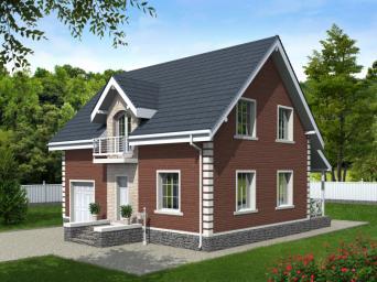 Проекты домов 12 на 12 с мансардой и гаражом. Дом размером 12 х 12