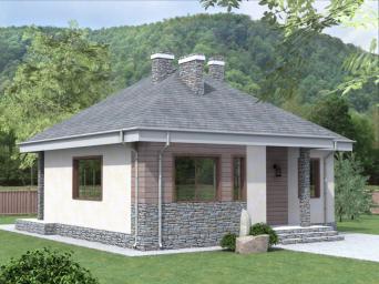Проекты домов 11 на 12 из пеноблоков. Дом размером 11 х 12 из