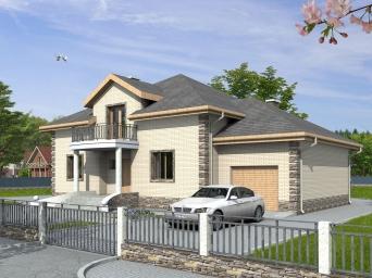 Проекты домов из пеноблоков до 300 кв.м. Дом из пеноблока от 250