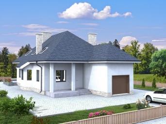 Проекты домов из пеноблоков до 200 кв.м. Дом из пеноблока от 150